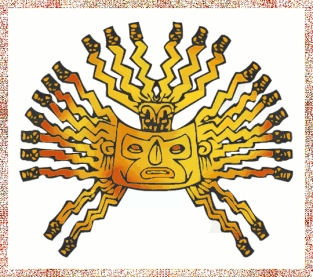 Inca Empire Symbol Inca sun god